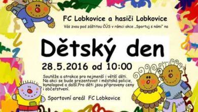 Photo of FC Lobkovice a SDH Lobkovice pořádají dětský den tuto sobotu