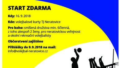 Photo of Volejbalový turnaj pro neratovickou veřejnost, přihlášky do 9. září