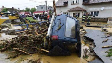 Photo of Hasiči pořádají sbírku pro povodněmi postižené obce Šumvald a Břevenec